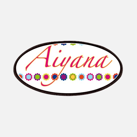 Aiyana with Flowers Patches