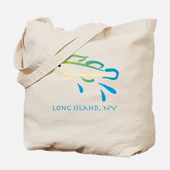 Long Island Fish Tote Bag