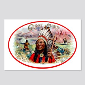 Great Chief Cigar Label Postcards (Package of 8)