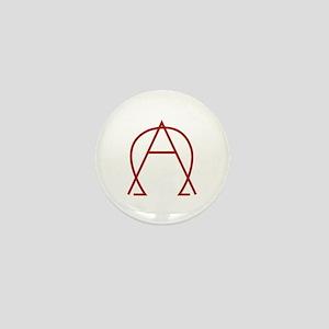 Alpha Omega - Dexter Mini Button