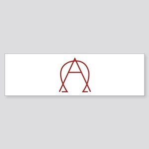 Alpha Omega - Dexter Sticker (Bumper)
