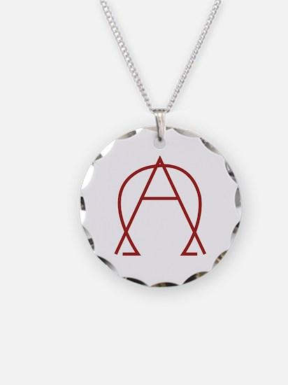 Alpha Omega - Dexter Necklace Circle Charm