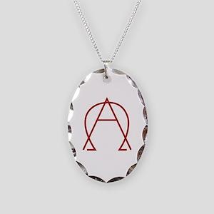 Alpha Omega - Dexter Necklace Oval Charm