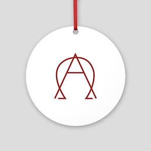Alpha Omega - Dexter Ornament (Round)