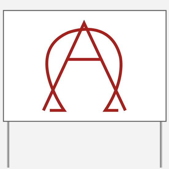 Alpha Omega - Dexter Yard Sign