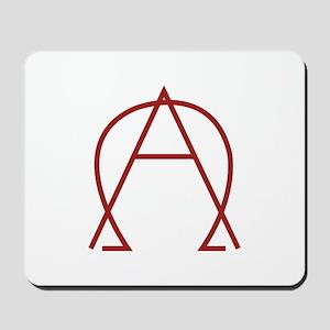 Alpha Omega - Dexter Mousepad