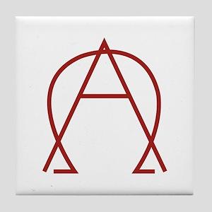 Alpha Omega - Dexter Tile Coaster