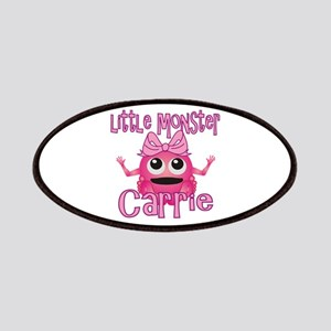 Little Monster Carrie Patches