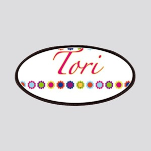 Tori with Flowers Patches