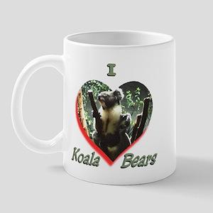 I Love Koala's Mug