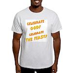 Celebrate God Ash Grey T-Shirt