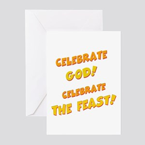 Celebrate God Greeting Cards (Pk of 10)