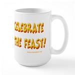 Celebrate God Large Mug
