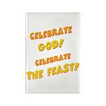 Celebrate God Rectangle Magnet (10 pack)
