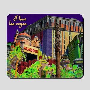 NEON Aladdin 2 Las Vegas Mousepad