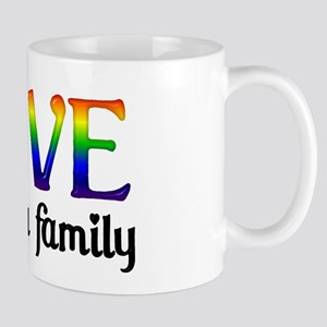 Love Makes A Family Mug