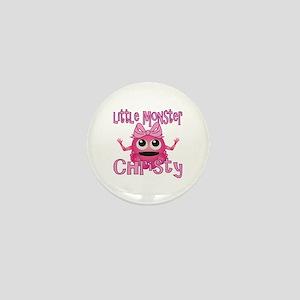 Little Monster Christy Mini Button