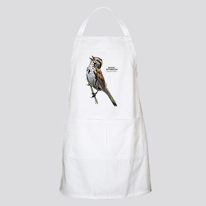 Song Sparrow Apron