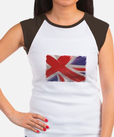 United Kingdom Women's Cap Sleeve T-Shirt
