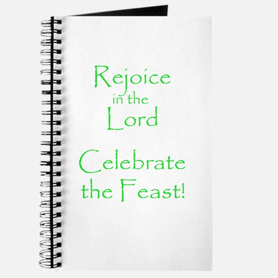 Rejoice in the Lord Journal