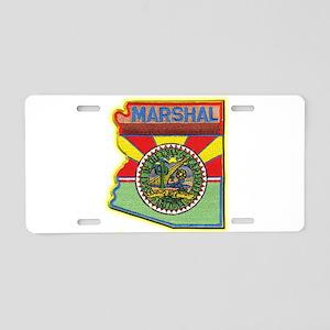 Carefree Marshal Aluminum License Plate
