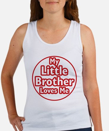 Little Brother Loves Me Women's Tank Top
