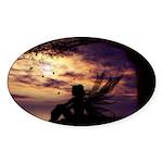The Dreamer Sticker (Oval 10 pk)