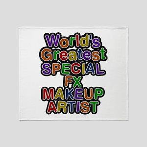 World's Greatest SPECIAL FX MAKEUP ARTIST Throw Bl