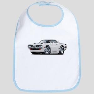 1970 Super Bee White Car Bib