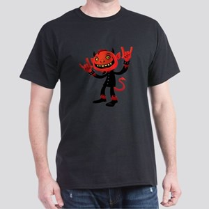 Heavy Metal Devil Dark T-Shirt