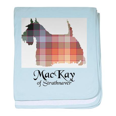 Terrier - MacKay of Strathnaver baby blanket