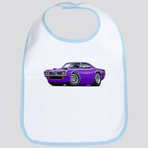 1970 Super Bee Purple-Black Car Bib