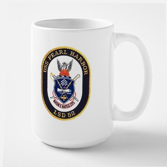 USS Pearl Harbor LSD 52 Large Mug