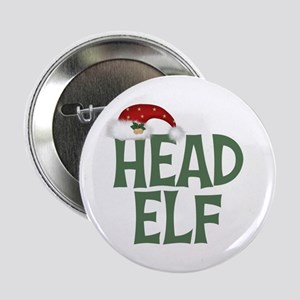 "Head Elf 2.25"" Button"