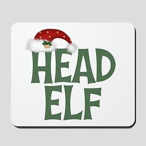 Head Elf Mousepad