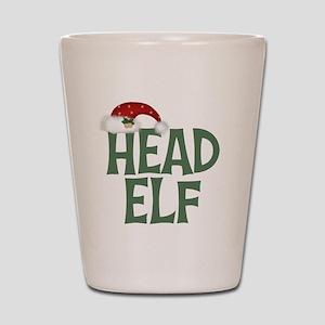 Head Elf Shot Glass