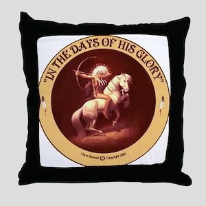 """Days of Glory"" Throw Pillow"