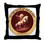 """Days of Glory"" Throw Pillow"