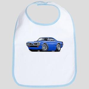 Super Bee Blue-Black Car Bib