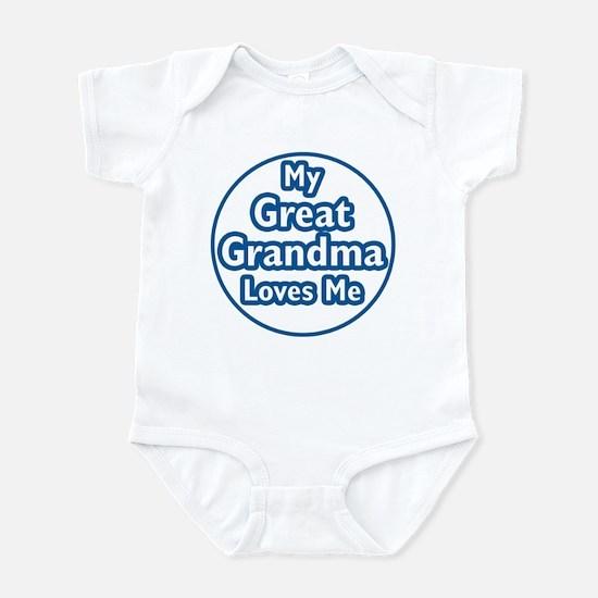 Great Grandma Loves Me Infant Bodysuit