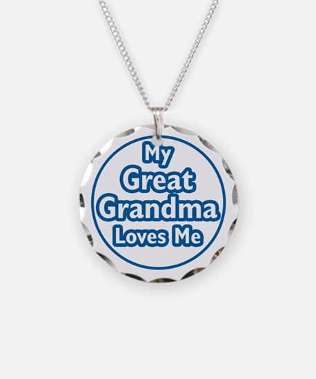 Great Grandma Loves Me Necklace
