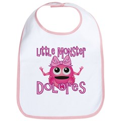 Little Monster Dolores Bib