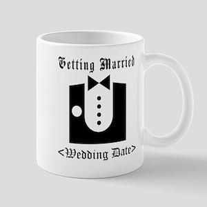 Groom (Type Wedding Date) Mug