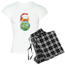 Peace on Earth Garfield Women's Light Pajamas
