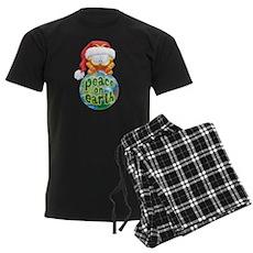 Peace on Earth Garfield Men's Dark Pajamas