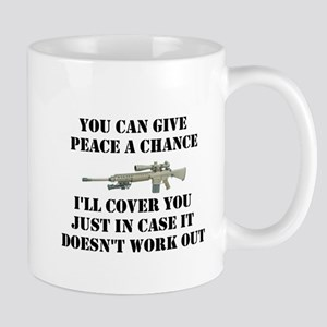 Peace or Protection Mug