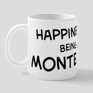 Happiness is Monterrey Mug