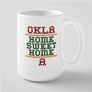 OklaHomeSweetHomeA Large Mug