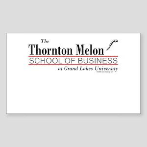 Melon School of Business Rectangle Sticker