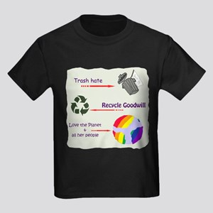 Trash Hate Kids Dark T-Shirt